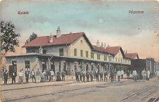 bc65407 Ujvidek Novi Sad Railway Station Train Chemin de fer Palyaudvar  serbia