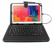 AZERTY Stand Case With Keyboard For Samsung Galaxy Tab Pro, Note N8000 10.1
