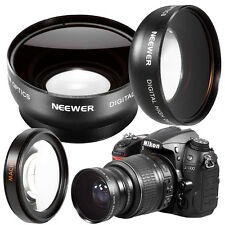 Neewer 52MM 0.45X Wide Angle HD Macro Lens for NIKON D5300 D5200 DSLR Cameras