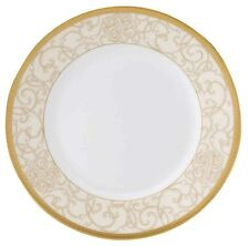 "Wedgwood Celestial Gold  9"" Accent Luncheon Plate NEW"