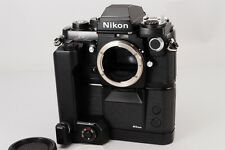 【TOP MINT】 Nikon F3 HP 35mm SLR Film Camera w/MD-4 MK-1 from Japan #200