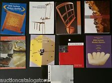 (( 9 POST AUCTION CATALOGS )) Rago 20th Century Modern Design Deco 3600 Items