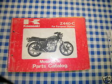 BB 99910-1105-01 catalogo ricambi  KAWASAKI Z440-C  ediz. 1979