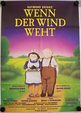 Wenn der Wind weht When the Wind Blows Filmposter A1 David Bowie Anime Atombombe
