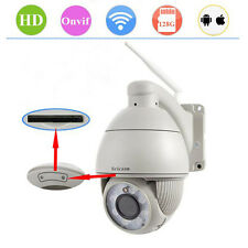 Sricam 1.0MP HD Wireless, Outdoor 5X Zoom PTZ ONVIF P2P ,Nework IP Camera IR CUT