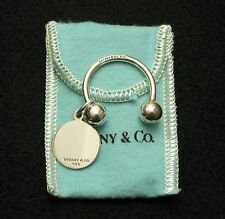 VINTAGE TIFFANY & Co. STERLING SILVER  KEY RING