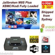 Jailbroken M8S+/M8S Plus Android 5.1 TV Box Quad Core XBMC/KODI V16 Fully Loaded