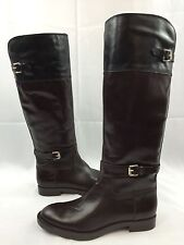 Enzo Angiolini Tall Leather Women's Riding Boots - EAEERO Sz 6.0 M New D1782