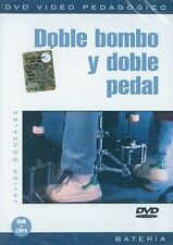 GONZALES JAVIER DOBLE BOMBO Y DOBLE PEDAL DRUMS MUSIC MUSIQUE Learn to Play DVD