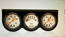 MINI Sunpro Triple Gauge Set White Face