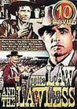 LAW AND THE LAWLESS (5 DVD SET) Boot Hill 10 MOVIES beyond, sundance and kid NEW
