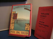 Tripmaster Monkey by Maxine Hong Kingston (Signed First Edition+Signed Proof)