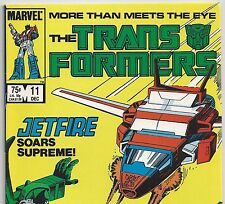 Marvel Comics The Transformers #11 with Optimus Prime from Dec 1985 in F/VF  DM