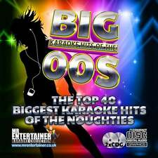 Mr Entertainer Karaoke CDG - The Big 00's Hits Double Noughties CD+G Discs Pack