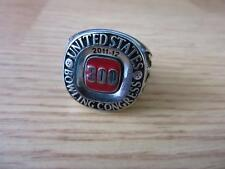 USBC 300 Perfect Game United States Bowling Congress Ring 2011-12 SIZE  12