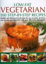 Low Fat Vegetarian: 100 Step-By-Step Recipes: Healthy and delicious-ExLibrary