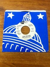 "TONY TOLIVER - BAR STOOL FOOL PROMO DJ 45 Rpm CAPITOL 7PRO-79545 7"" RECORD"