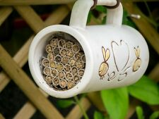 'Flowers love Bees' Pollinator House Mug - LOW PRICE! FREE DELIVERY