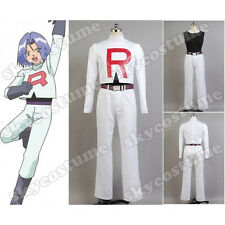 Pokemon Team Rocket James Cosplay Costume A006