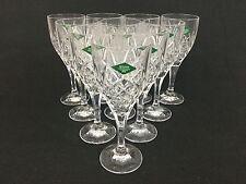 Godinger Shannon Dublin TEN All-Purpose Crystal Water Wine Goblets Glasses