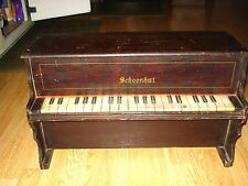 ANTIQUE  EARLY 1900'S SCHOENHUT 22 KEY PIANO-SALESMAN SAMPLE-CHILDS