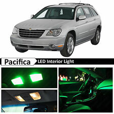 14x Green Interior LED Lights Package Kit for 2004-2008 Chrysler Pacifica + TOOL
