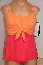 NWT Coco Reef Swimsuit Bikini Tankini 2pc set Sz XL 38DD Multi Perfect Fit