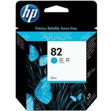 Original HP 82 High Capacity Cyan Ink Cartridge (C4911A)