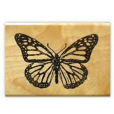 Monarch Butterfly mounted rubber stamp #9