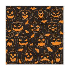 4 Tolle Motiv Servietten Napkins Tovaglioli  33 x 33cm  Halloween Kürbisse (351)