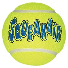 "Air Kong Squeaker AirDog SqueakAir Tennis Ball Dog Toy LG 3.5"" - AST1B"
