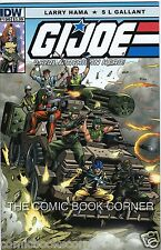 IDW Comics G.I. JOE - A REAL AMERICAN HERO #196 Near Mint GI NM Bagged & Boarded
