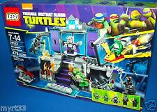 LEGO 79122 Shredder's Lair Rescue~TMNT~Teenage Mutant Ninja Turtles~RETIRED NIB