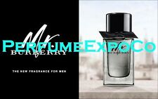 Mr. BURBERRY MAN .16oz - 5ml Eau De Toilette SPLASH Mini Sample Cologne (C71