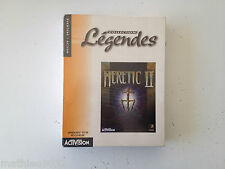 Heretic II 2 FPS PC FR Big Box NEUF/NEW/Blister