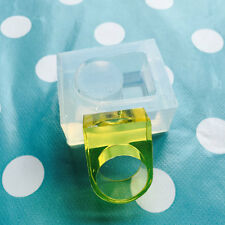 Silicone ring mold-taille: uk q/us 8.5 résine bijoux making mould