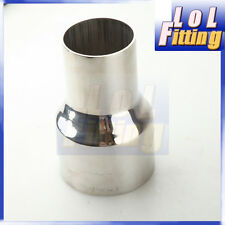 "3"" TO 4"" STAINLESS REDUCER PIPE CUSTOM TURBO/EXHAUST/INTERCOOLER 5"" LENGTH"
