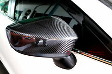 REAL 3D GLOSS CARBON FIBER SIDE MIRROR COVER 14-16 MAZDA3 BM SPORT SKYACTIV JDM
