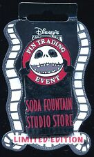 DSF Nightmare Before Christmas Trading Event Logo Jack LE 300 Disney Pin 65498