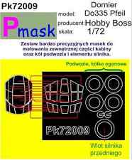 DORNIER do335 PFEIL PITTURA MASCHERA PER HOBBY BOSS KIT #72009 1/72 pmask