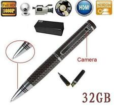 IN Pen Spy Camera Full HD 1080P Motion Detection Hidden Video Recorder HDMI 32GB