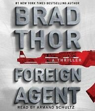 FOREIGN AGENT AUDIOBOOK A THRILLER BY BRAD THOR UNABRIDGED ON 9 CD'S BRAND NEW