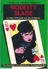 MODESTY BLAISE First American Edition Series #4 (1983) Ken Pierce SqB SC