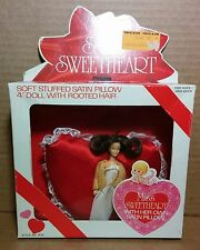 "Toy Time Satin Sweetheart 4"" Mini Doll Miss Sergio Valente 1981 Glamour Gals MIB"