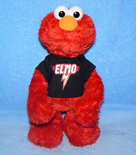 "15"" Elmo Plush Doll Sesame Street Let's Rock Singing Talking Working Tested"