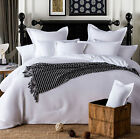 NEW 100% Cotton White Waffle Quilt/Doona/Duvet Cover Set - S D Q K SK