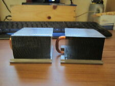 2 X DISSIPATEUR RADIATEUR HEATSINK FOR DELL OPTIPLEX 755 760 USFF 0Y1851 0X599G