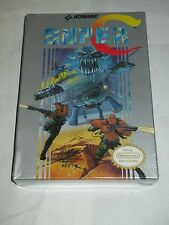 Super C Contra (Nintendo NES, 1990) NEW Factory Sealed #2