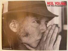 NEIL YOUNG ARE YOU PASSIONATE PROMO POSTER 2002