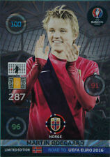 Panini Adrenalyn XL Road to UEFA Euro 2016. Limited Edition Martin Odegaard